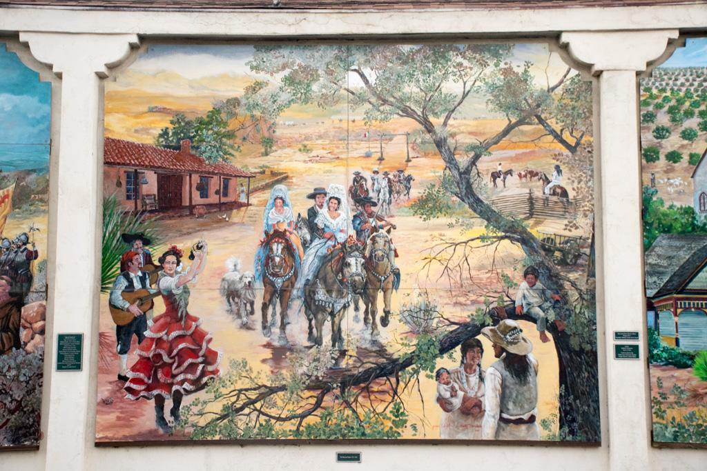 The Lemon Grove History Mural Section 3