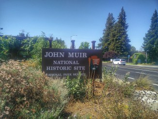 John Muir National Historic Site Sign