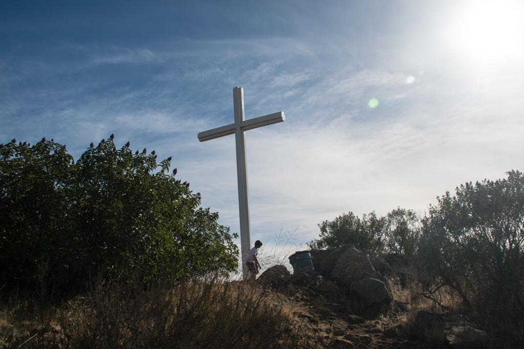 Battle Mountain Cross