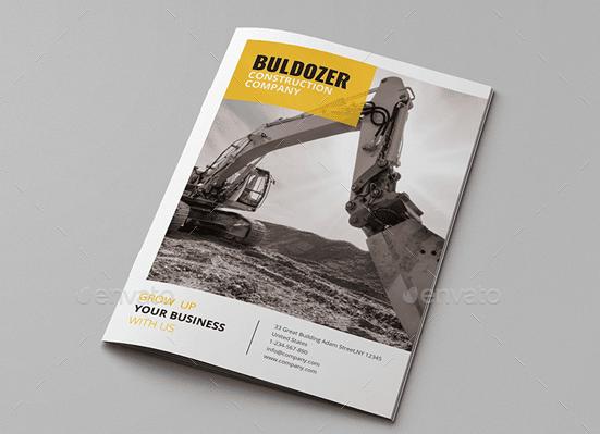 10 Exquisite Construction & Buildings Brochure Templates For