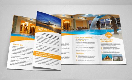 10 Incredible Holiday Brochures Make It An Expressive Way