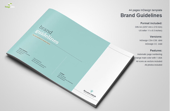 10 Great Beautiful Brand Book Templates to Present Your
