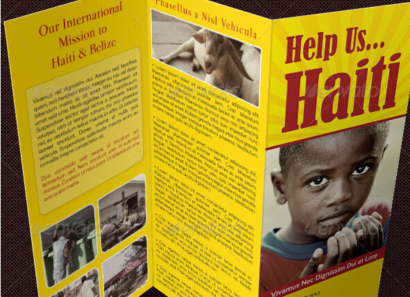 8 Spectacular Charity Brochure Templates To Promote Social Welfare