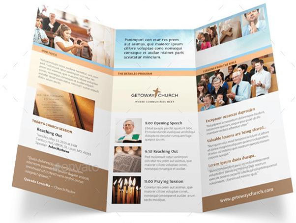 Church Brochures Samples Ideal Vistalist Co