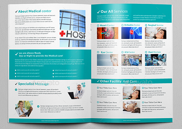 8 Professional Hospital Brochure Templates For Business Promotion