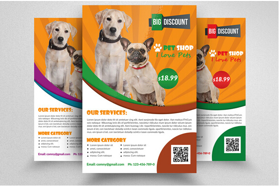 8 Excellent Pets & Animal Brochure Templates To Facilitate
