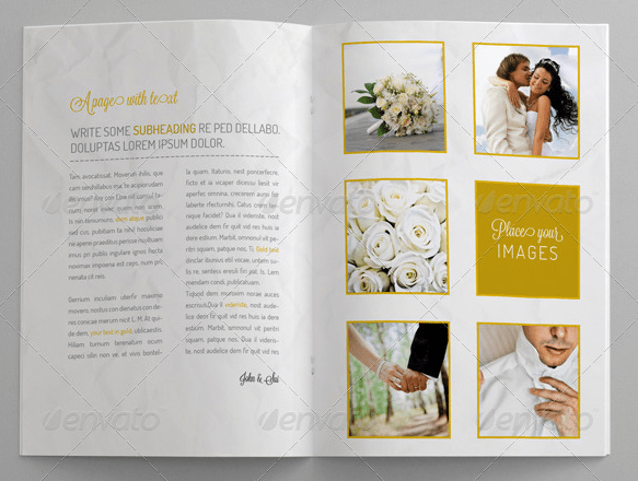 10 Beautiful Wedding Brochure Templates – PSD EPS AI InDesign