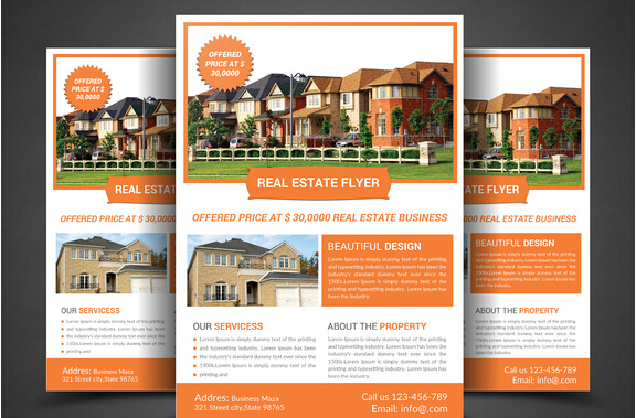 Real Estate Brochure Examples Pdf - Real estate agent flyer template free