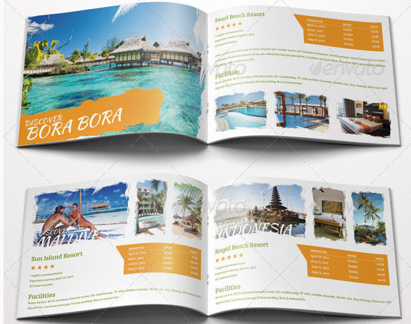 10 Travel Brochure Examples For Designers And Travel