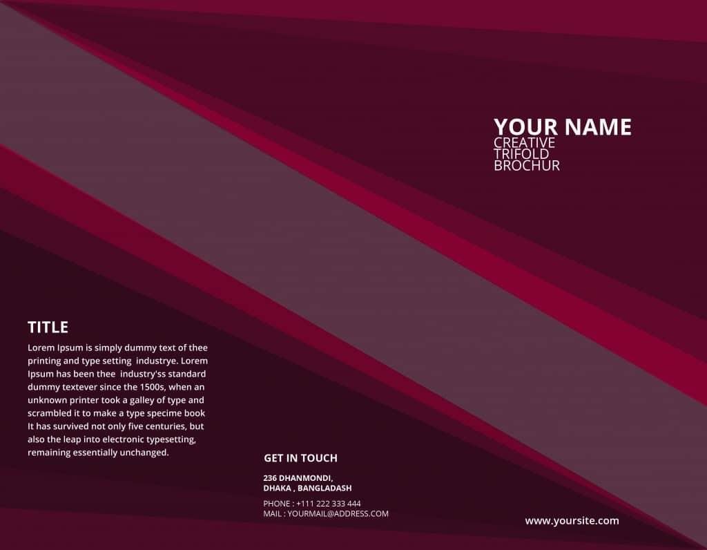 Free Online Brochure Templates