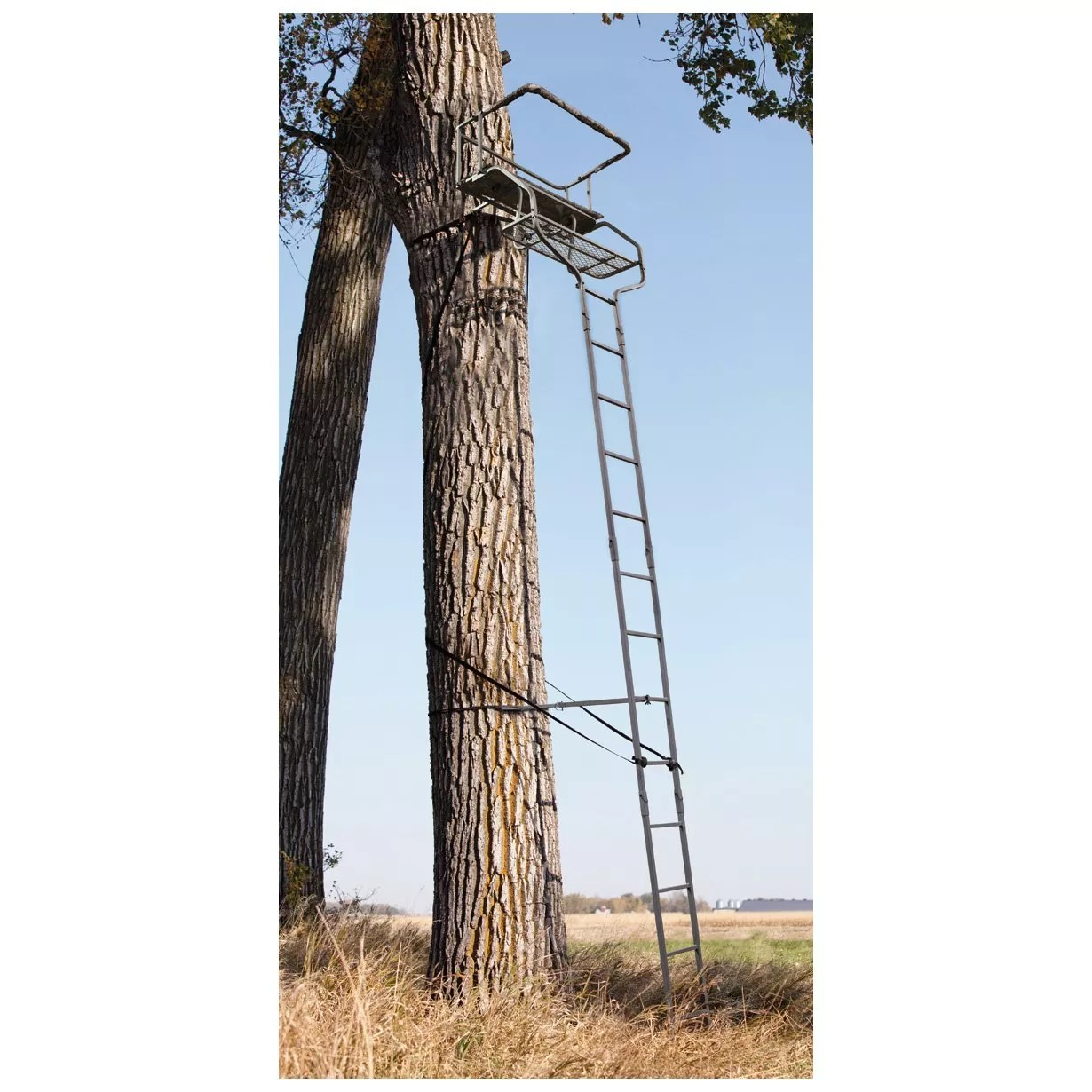 Sniper Deluxe 2-man Ladder Tree Stand 18