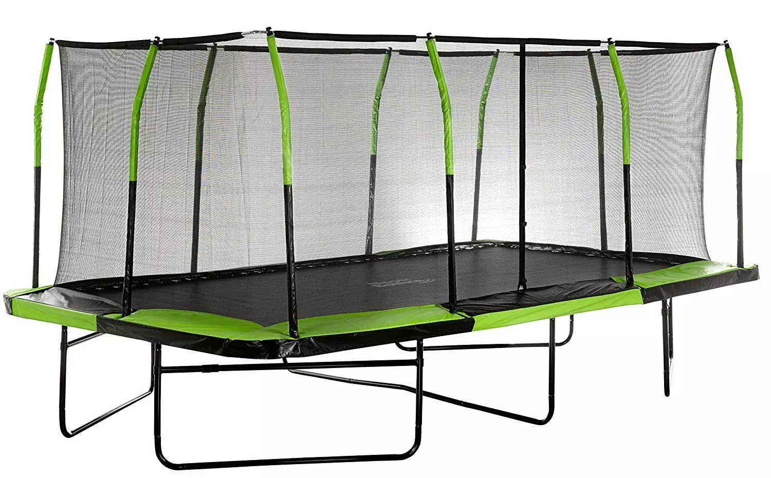 Upper Bounce Easy Assemble Spacious Rectangular Trampoline