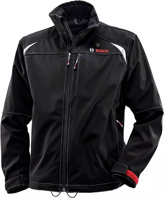 Bosch Men's 12-Volt Max Lithium-Ion Soft Shell Heated Jacket