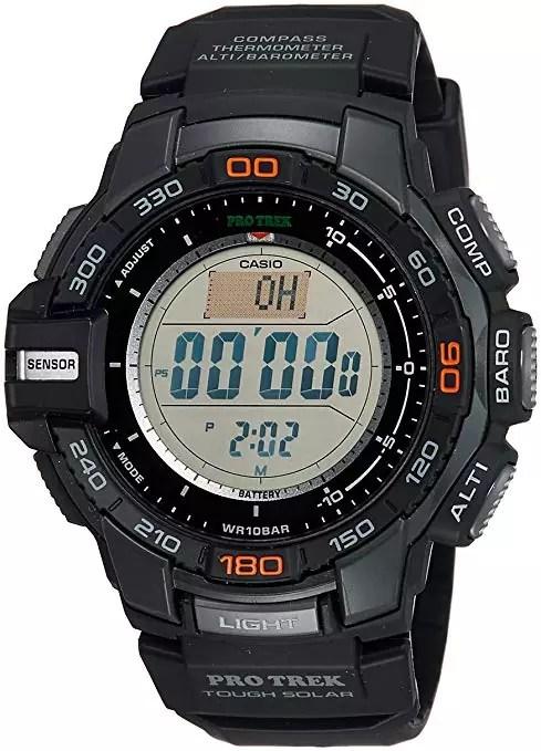 Casio Men's Pro Trek PRG-270-1 Tough Solar Triple Sensor Watch