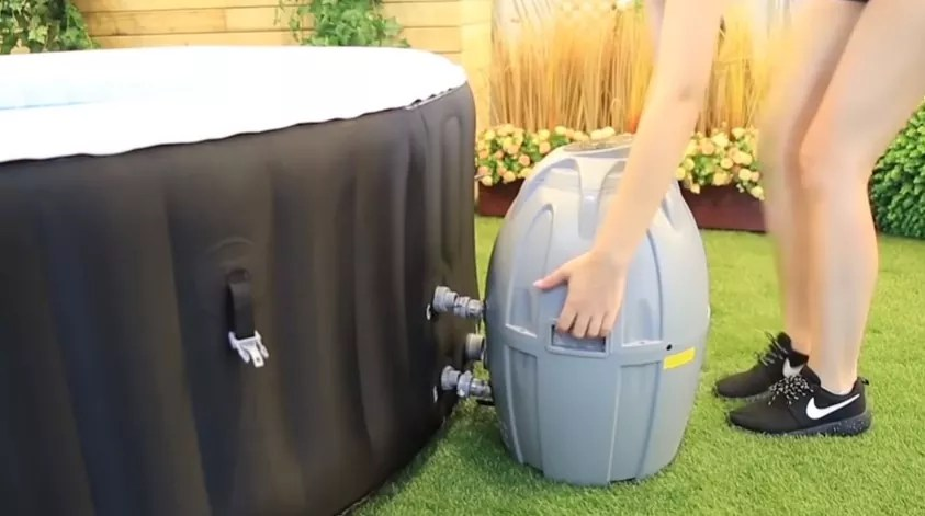 How To Setup Your Inflatable Hot Tub