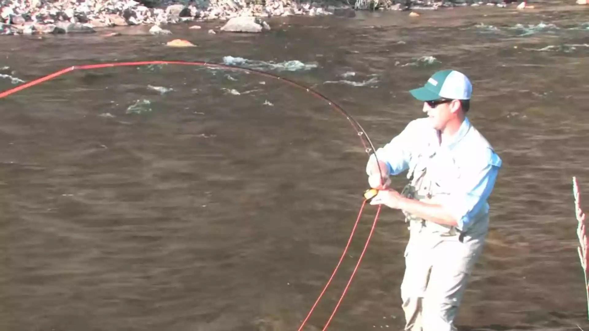 Fishing hones your motor skills