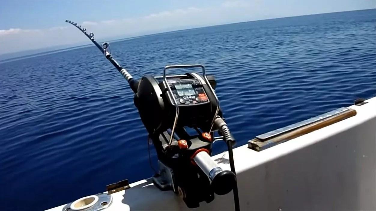 Deep seas fishing rod