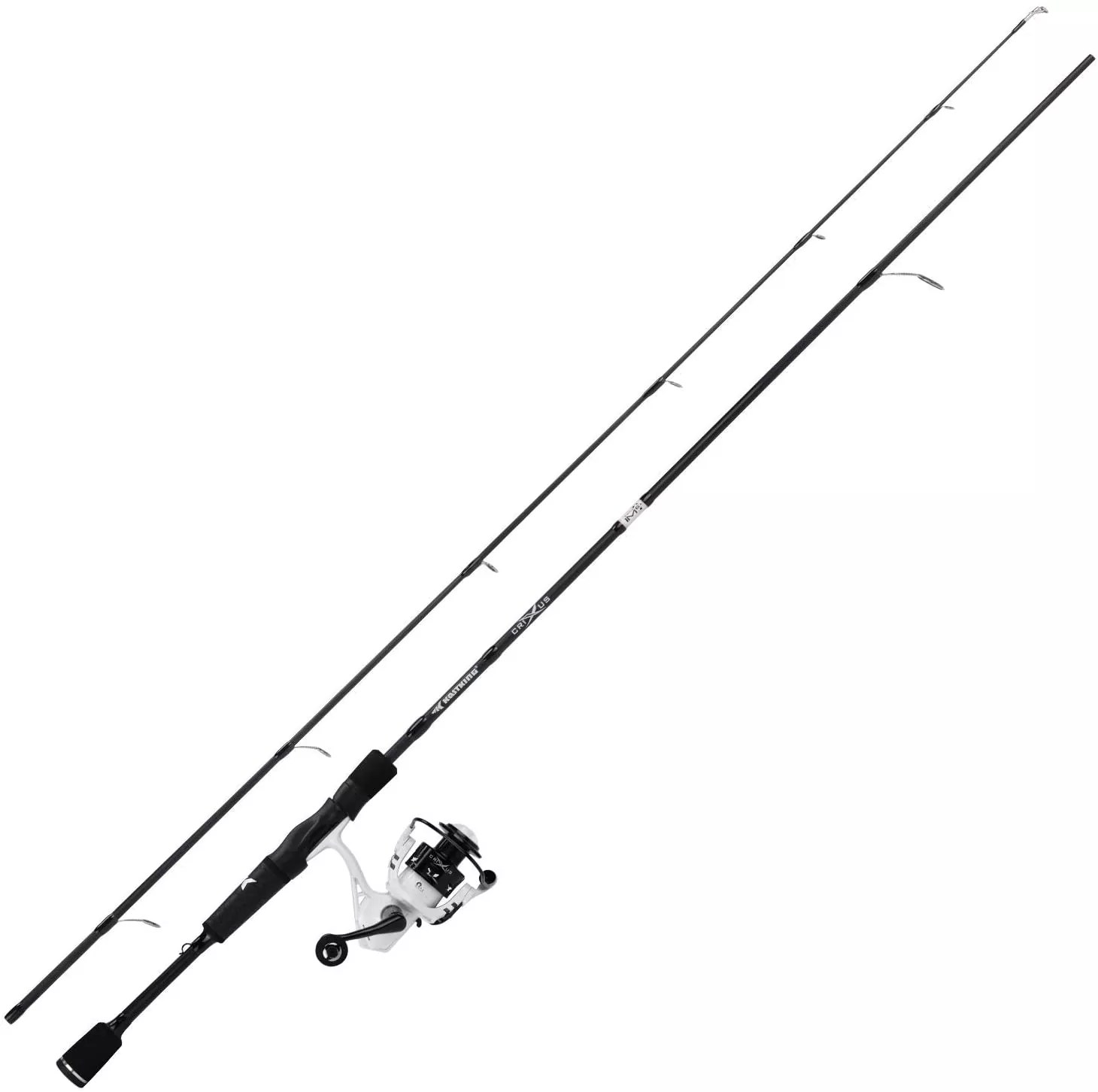 KastKing Crixus Fishing Rod and Reel Combo, Baitcasting Combo