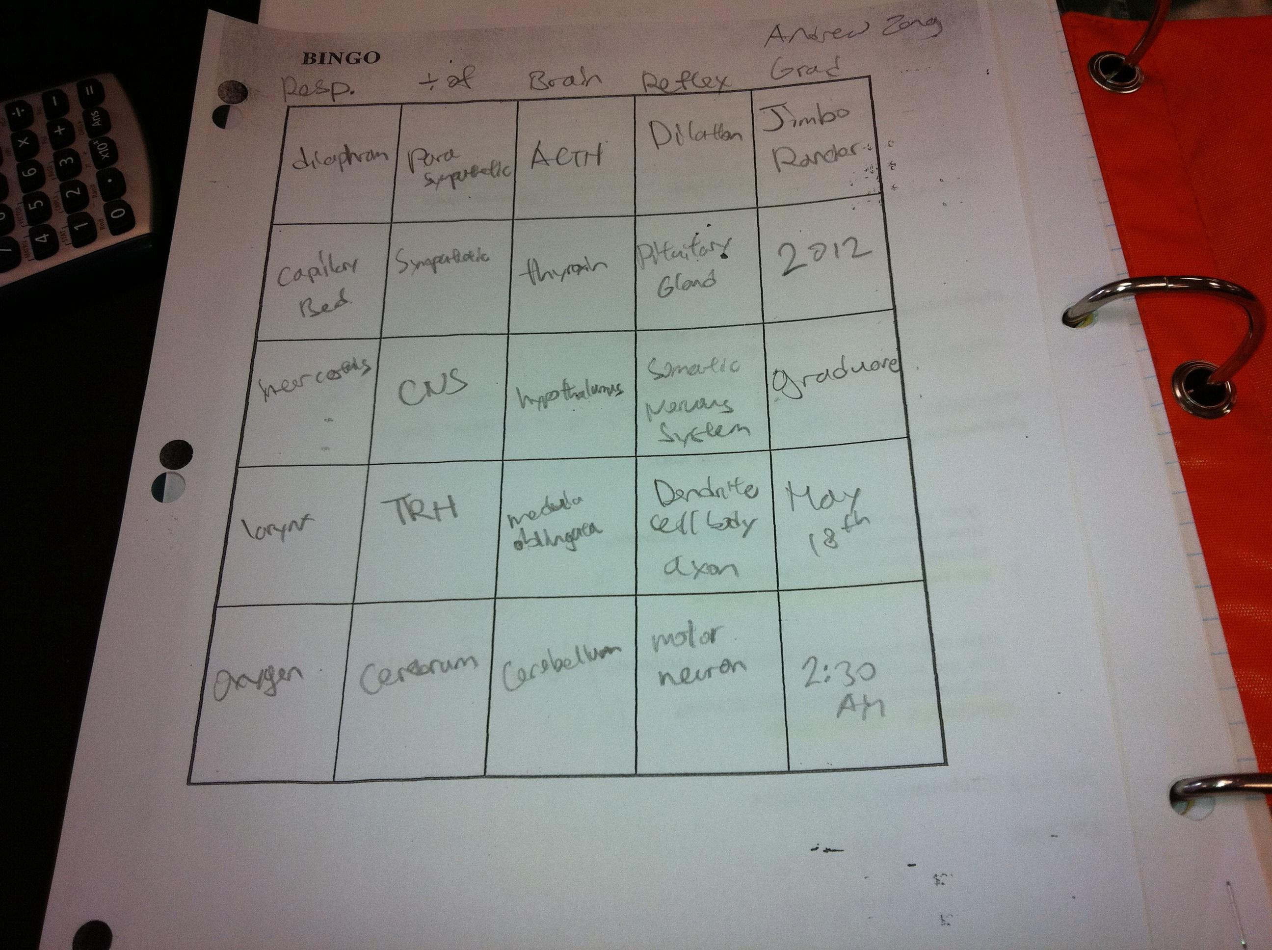 Sick Of Review Worksheets Bingo Everybody Loves Bingo