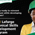 Lafarge 2021 Technical Skills Development Programme With WAEC – How to Apply