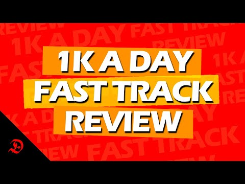 Cheap 1k A Day Fast Track Training Program  Price Pictures