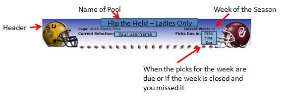 How to Play in our College Football Pool - Flip the Field