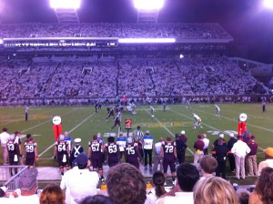 football pick up line