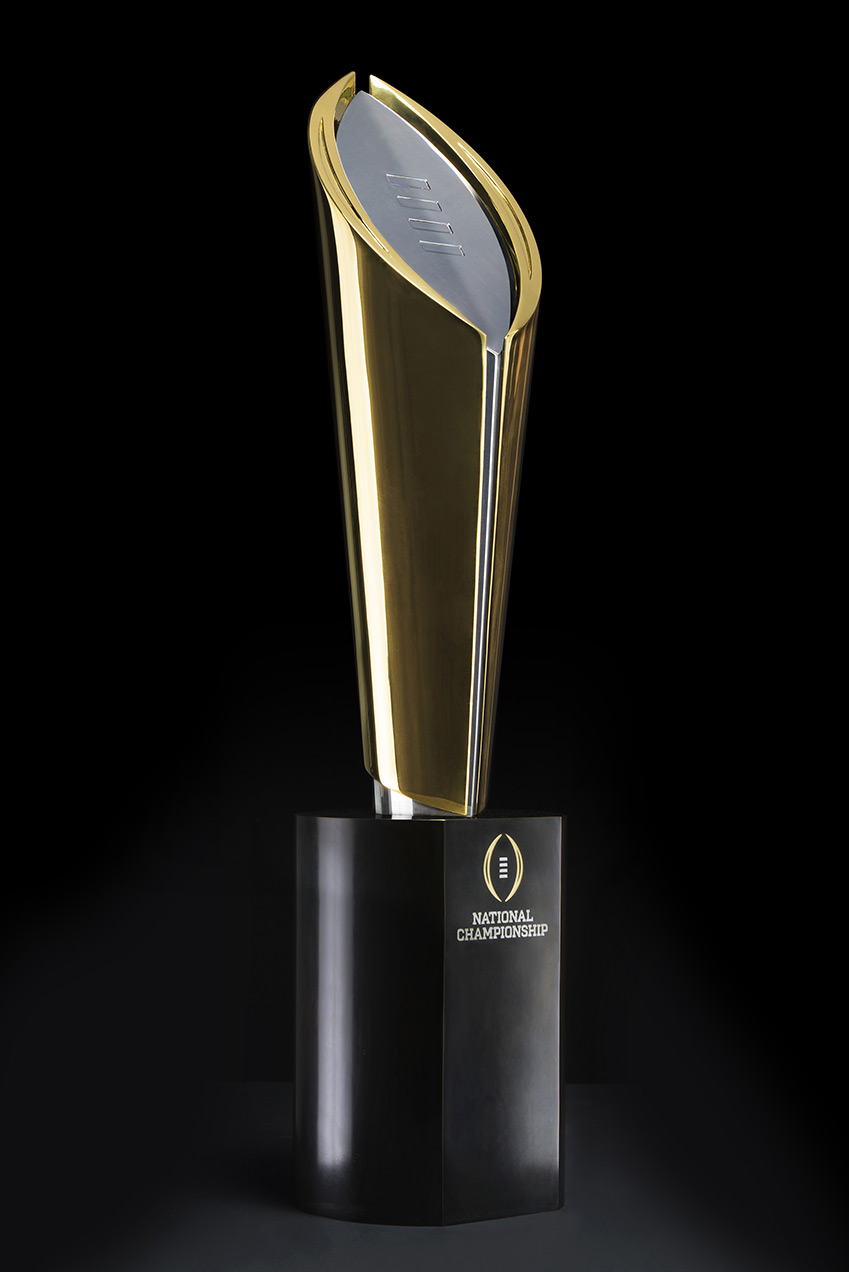 New College Football National Championship Trophy