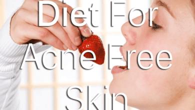 Acne Free Diet