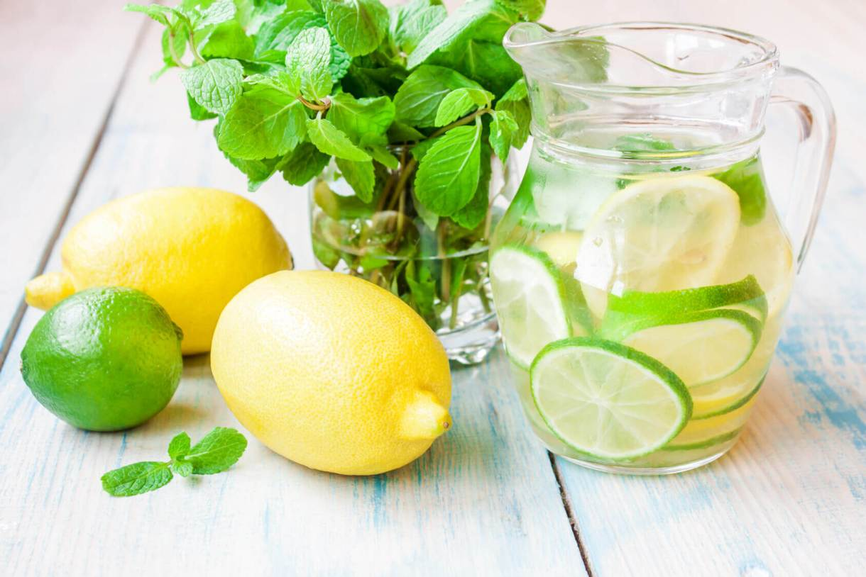 Lemon Detox Water Recipes