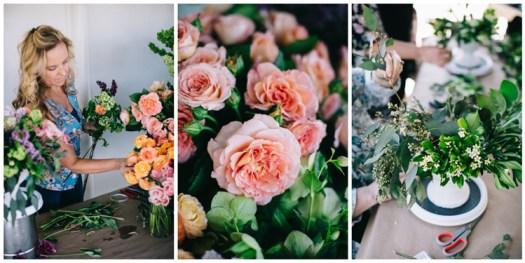flirty fleurs floral design workshop - floral design classes in Seattle Washington