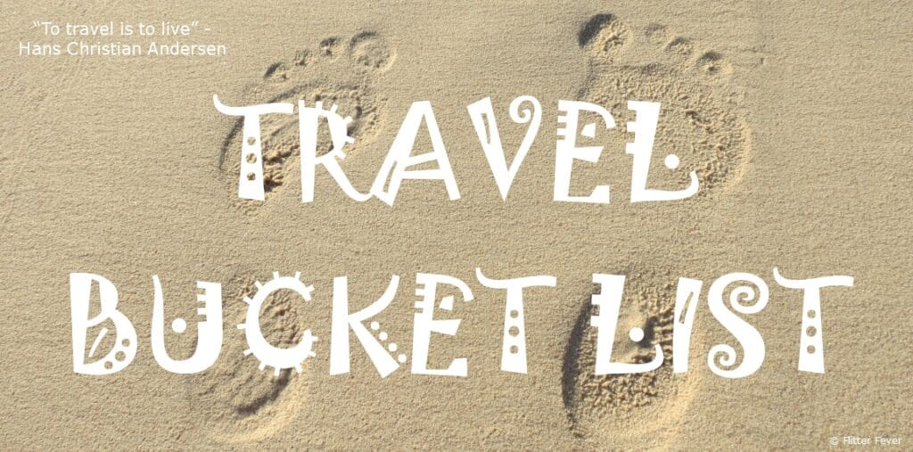 Travel Bucket List quote