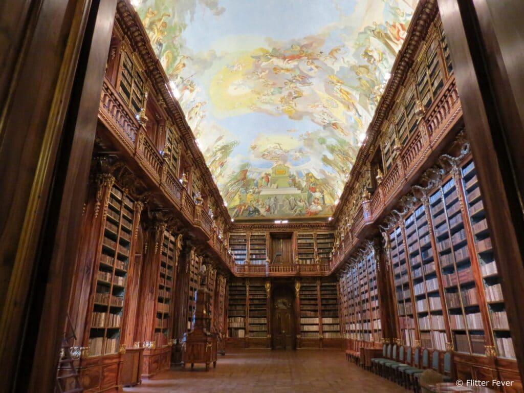 Strahov Monastery Library main hall Prague Praag