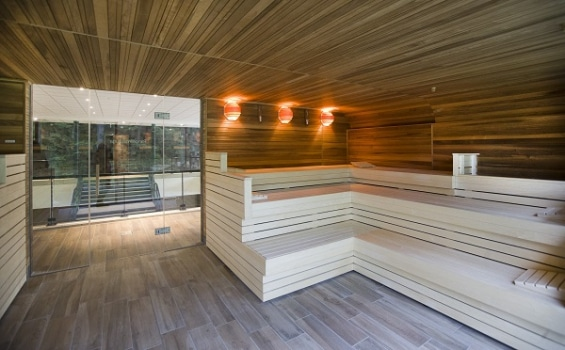 Wellness Thermen Soesterberg sauna