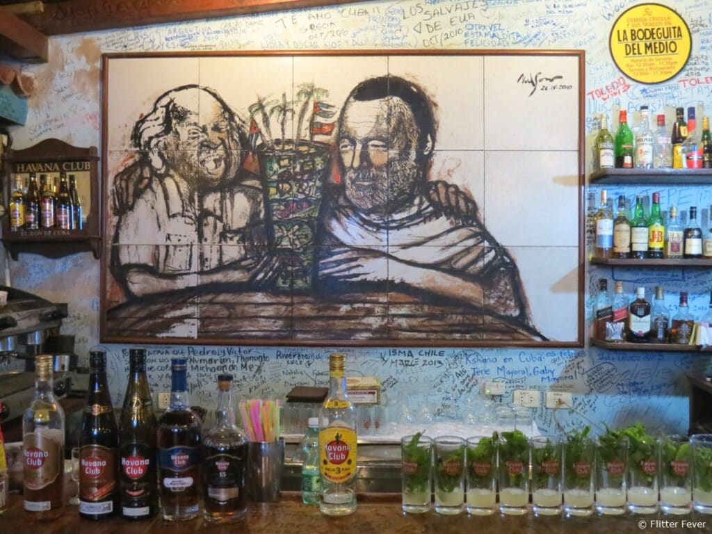 La Bodeguita del Medio Hemingway mojito Havana Cuba
