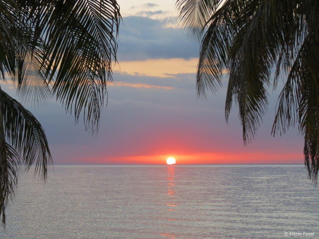 Maria La Gorda sunset