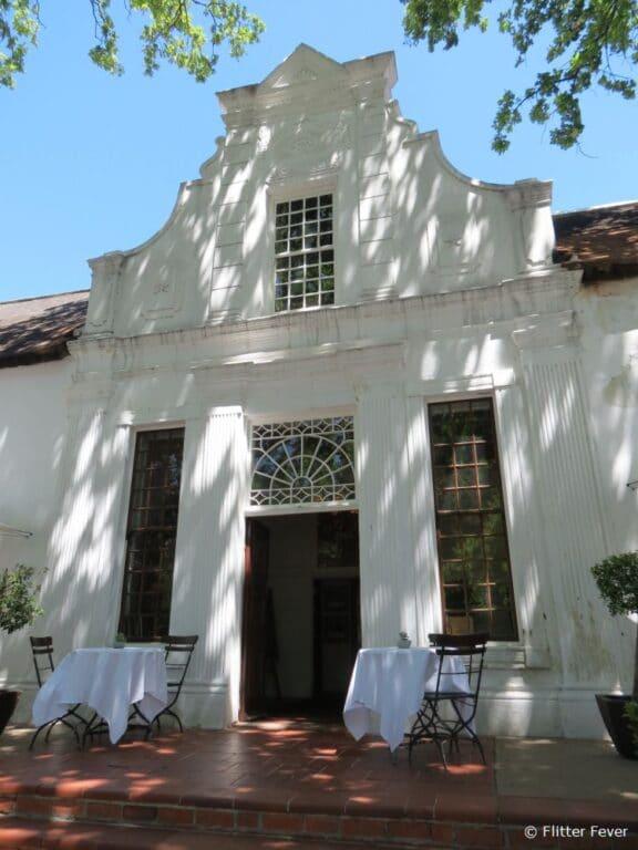 Beautiful old colonial buildings in Stellenbosch