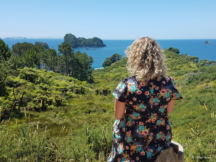Cathedral Cove Marine Reserve Walk view, New Zealand