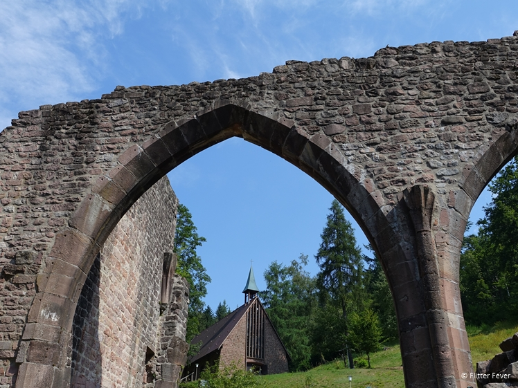Monastery of All Saints ruins with chapel in Oppenau