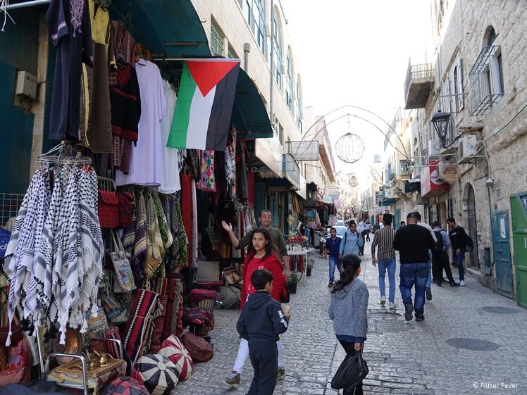 Arab shop in Manger St Bethlehem