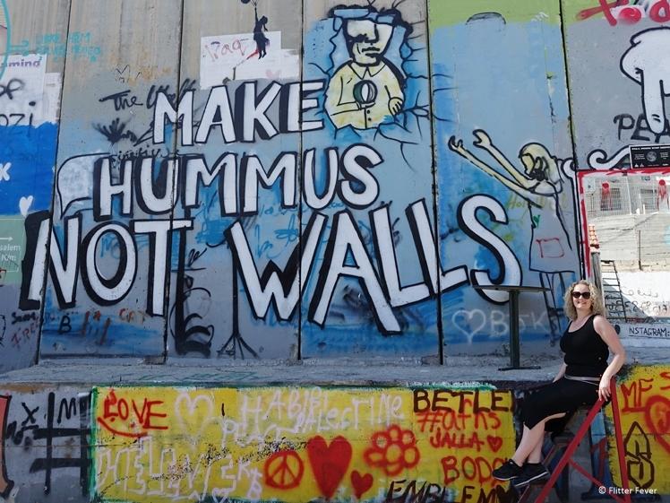 Make hummus not walls Bethlehem