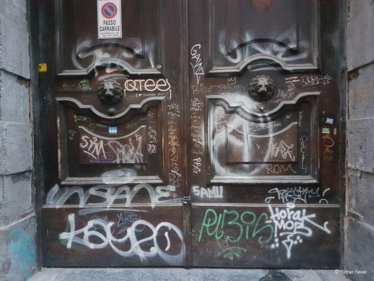 Many doors look like this in Naples