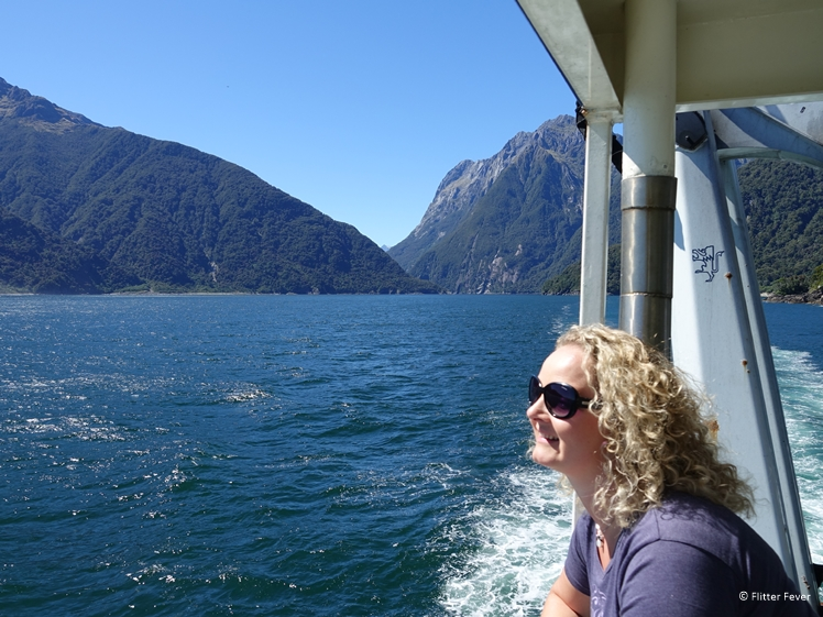 What a privilige to do these boat trips all over the world New zealand Milford Sound