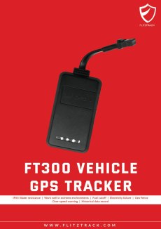 gps tracker flitztrack ft300
