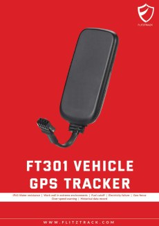 gps tracker flitztrack ft301 motorcycle