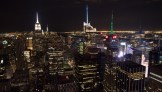 NYC sparkles at night – Top of the Rock