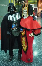 Vader & Queen Amidala in happier times