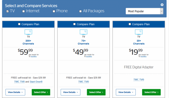 Time Warner Cable Packages