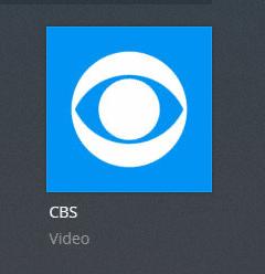 CBS plex channel screenshot
