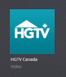 hgtv canada plex channel screenshot